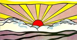Roy Lichtenstein Amanecer (1965)