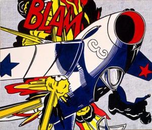 Roy Lichtenstein Blam (1962)